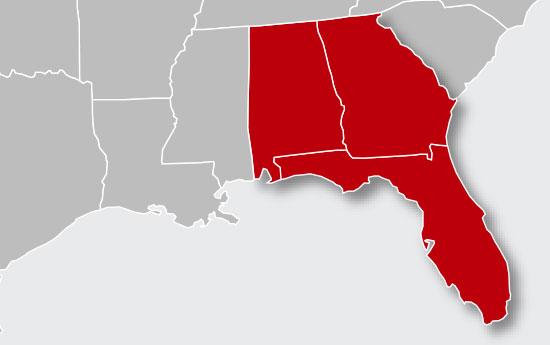 thompson-service-area-map-florida-georgia-alabama